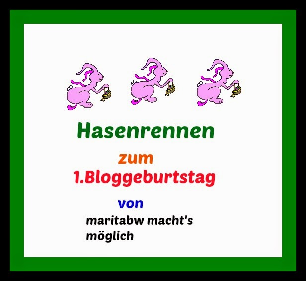 1.Bloggeburtstag
