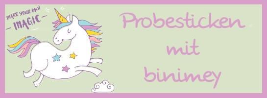 Probesticken mit binimey