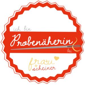 Probenähen für Frau Scheiner